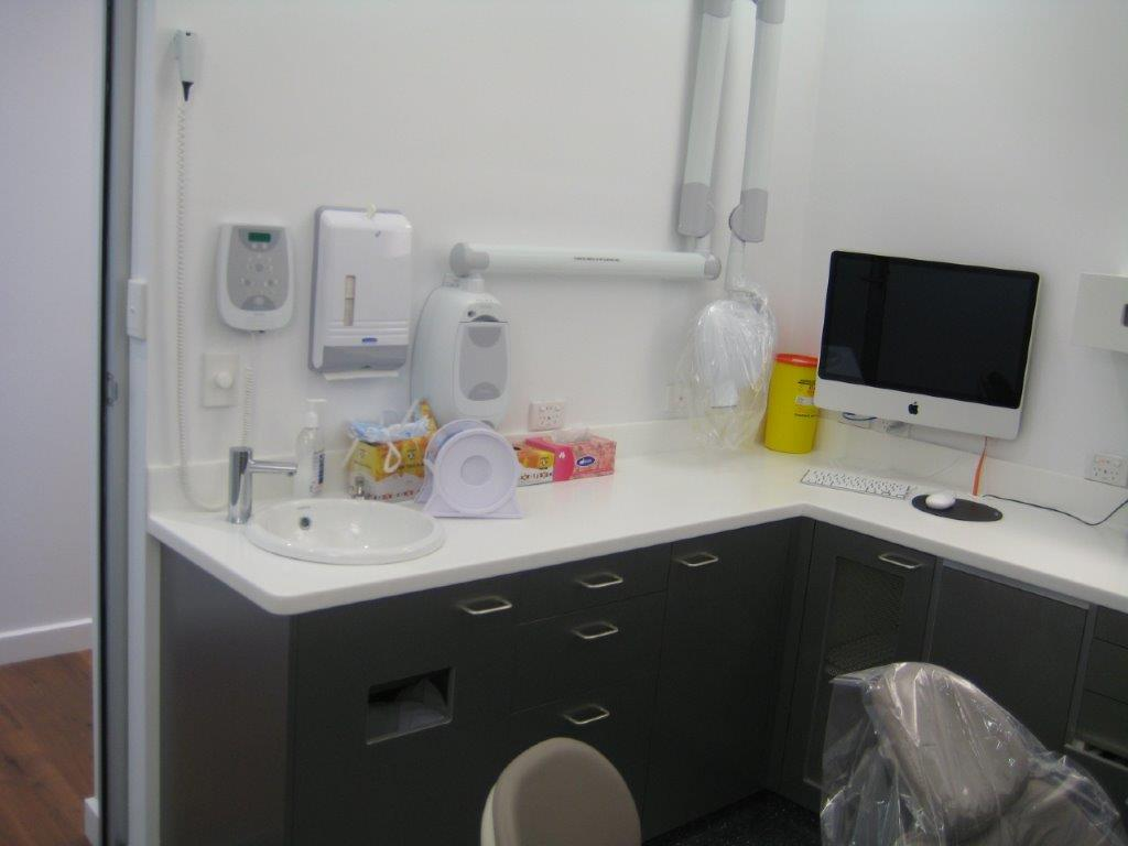 Designer Field Interiors fit-out of Malvern Orthodontics Dental Clinic